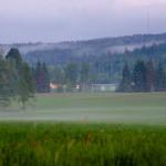 Utsikt mot Krommetsbo