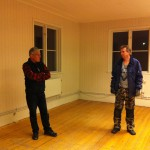 Bengt-Olov och Christer funderar