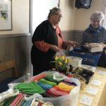 Margareta Nord säljer bakverk