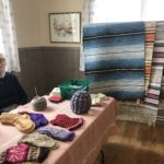 Kerstin Gullans med textila verk